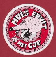 Sticker Autocollant CJP Mouse Muis Souris Aufkleber Adesivo - Autocollants