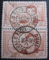 DF50500/15 - COLONIES FR. - COTE D'IVOIRE - N°141 (PAIRE) ☉ - BEAUX CàD : COTE D'IVOIRE / OUME / 26 DEC 1939 - Côte-d'Ivoire (1892-1944)