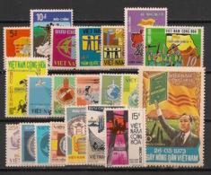 South Vietnam - Complete Year 1973 - N°Yv. 444 à 463 - 21v / Année Complète  - Neuf Luxe ** / MNH / Postfrisch - Viêt-Nam