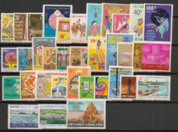 South Vietnam - Complete Year 1975 - N°Yv. 498 à 531 - 34v / Année Complète  - Neuf Luxe ** / MNH / Postfrisch - Vietnam