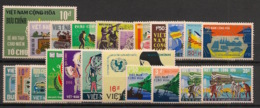 South Vietnam - Complete Year 1968 - N°Yv. 325 à 346 - 22v / Année Complète  - Neuf Luxe ** / MNH / Postfrisch - Viêt-Nam