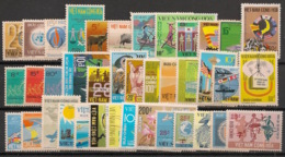 South Vietnam - Complete Year 1974 - N°Yv. 464 à 497E - 39v / Année Complète  - Neuf Luxe ** / MNH / Postfrisch - Viêt-Nam