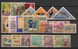 South Vietnam - Complete Year 1970 - N°Yv. 368 à 386 - 19v / Année Complète  - Neuf Luxe ** / MNH / Postfrisch - Vietnam