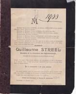 WAREMME Guillaume STREEL époux GREGOIRE Député  40 Ans 1900 - Décès