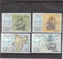M18 - DOMINICA - 609/612** MNH De 1979 - James COOK - HMS Discovery - HMS Endeavour - HMS Résolution - - Dominique (1978-...)