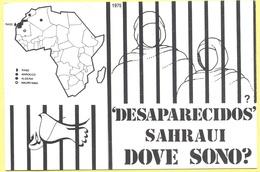 Tematica - Prigionieri - Campagna Europea Di Adozione Simbolica - 'Desaparecidos' Sahraui, Dove Sono? - RASD - Not Used - Prigione E Prigionieri