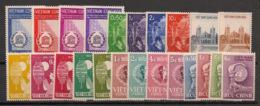 South Vietnam - Complete Year 1958 - N°Yv. 81 à 103 - 23v / Année Complète  - Neuf Luxe ** / MNH / Postfrisch - Vietnam