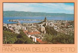 MESSINA - PANORAMA DELLO STRETTO - Messina