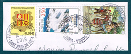 Andorra 1979 Costumes 1983 Ski Resorts 2001 Coat Of Arms On Paper - French Andorra