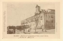 MILAZZO - SANTUARIO SAN FRANCESCO DI PAOLA - RIPRODUZIONE CARTOLINA 1905 - Other Cities