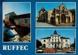Dep 16 , Cpm  RUFFEC , 109 , Multivues   (D09.737) - Ruffec