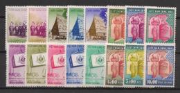 South Vietnam - Complete Year 1957 - N°Yv. 65 à 80 - 16v / Année Complète  - Neuf Luxe ** / MNH / Postfrisch - Vietnam