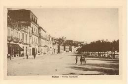 MILAZZO - MARINA GARIBALDI, ANIMATA - RIPRODUZIONE CARTOLINA 1920 - Other Cities