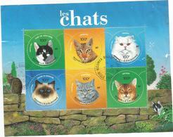 923/28   Les Chats   Beaux Cachets D'époque(clasviol) - Blocs-feuillets