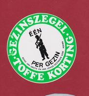 Sticker Autocollant Bond Van Grote En Jonge Gezinnen Soldaat Soldier Gun Soldat Aufkleber Adesivo - Autocollants