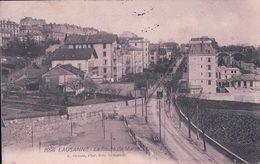 Lausanne, Route De Morges, Chemin De Fer Et Tramway (2096) - VD Vaud