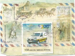 41   Service Postal     Beaux  Cachets  D'éoque  MONT- DORE (clasviol) - Blocs-feuillets