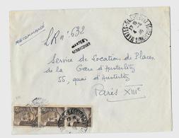 78 – YVELINES (Ex S&O)  « MANTES »                                  LRI 1er Ech.  – Tarif à 9F. - Marcophilie (Lettres)