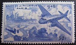 DF50500/16 - VIGNETTE NEUVE* : SALON DE LA PHILATELIE PARIS 1946 - Advertising