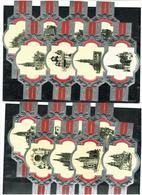 VITOLAS TABAC FAJAS DE PUROS  CATEDRALES ESAPAÑA COLECCION 16 DIFF- - Tabac (objets Liés)