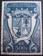 DF50500/17 - 1969 - TAAF - ARMOIRIES - POSTE AERIENNE - N°21 ☉ - Cote : 18,00 € - Terres Australes Et Antarctiques Françaises (TAAF)