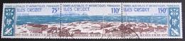 DF50500/18 - 1974 - TAAF - BASE ALFRED FAURE - TRIPTYQUE N°36A ☉ - Cote : 31,00 € - Terres Australes Et Antarctiques Françaises (TAAF)