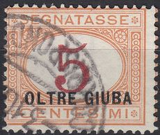 OLTRE GIUBA (occupazione Italiana) - 1925 - Segnatasse Yvert 1, Usato. - Oltre Giuba