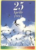 Tematica - Feste - 1995 - 25 Aprile, 50° Anniversario Della Liberazione - Not Used - Eventi
