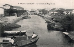 CPA   34   PALAVAS-LES-FLOTS---LA CANALETTE DE MAGUELONNE - Palavas Les Flots