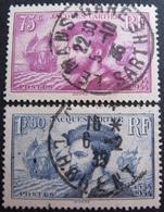DF50500/20 - 1934 - J. CARTIER -  N°296 à 297 ☉ - Oblitérés