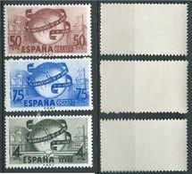 ESPAGNE SPANIEN SPAIN ESPAÑA 1949 U.P.U. SET 3V MNH ED 1063-65 YV 795-96+AER 240 MI 969-71 SG 1113+1127-29 SC 769-70+RAC - 1931-Aujourd'hui: II. République - ....Juan Carlos I
