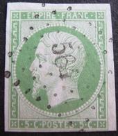 DF50500/24 - NAPOLEON III N°12 (dos Propre) - PC 564 : BULLES (Oise) ➤➤➤ INDICE 14 - Cote (hors Indice 14) : 90,00 € - 1853-1860 Napoléon III