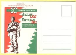 Tematica - Sindacati - SPI-CGIL - 1945-1995 - 50° Anniversario Della Lotta Di Liberazione Nazionale - Anziani Oggi/Parti - Sindacati
