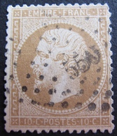 DF50500/28 - NAPOLEON III N°21 - LOSANGE PETITS CHIFFRES - 1862 Napoléon III