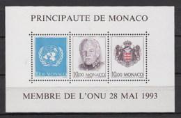 Monaco Nuovi: BF  N. 60. ** - Blocs