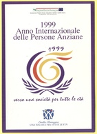 Tematica - 1999 - Anno Internazionale Delle Persone Anziane - Verso Una Società Per Tutte Le Età - Not Used - Eventi