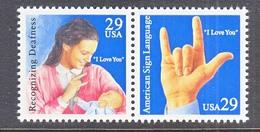 U.S. 2784 A  **  SIGN  LANGUAGE - Handicaps