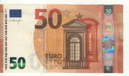 "50 EURO  ""PB""   DRAGHI     P 004 B1   PB3217173181   / FDS - UNC - EURO"