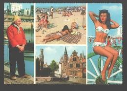 Belgische Kust - Groeten Uit De Belgische Noordzee-kust, En Uit Brugge - 1963 - Multiview - Belgique