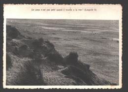 Middelkerke - Un Pays N'est Pas Petit Quand Il Touche à La Mer (Léopold II) - Middelkerke