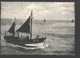 Oostduinkerke-Bad - Retour De Pêche - Vissersboot / Bateau De Pêche - 1958 - Nels Photothill - Oostduinkerke