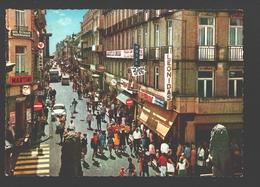 Blankenberge - Kerkstraat - Reclame Martini, Leonidas - Geanimeerd - Blankenberge