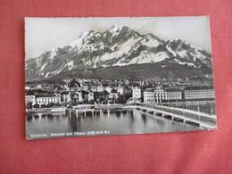 Switzerland > LU Lucerne Bbahnhof & Pilatus  Has   Stamp   Ref 3134 - LU Lucerne