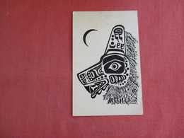 Seawolf Mask  Tlingit Tribe  2 Pin Holes   Ref 3134 - Native Americans