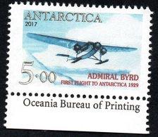 Antarctica Post Single With Enscription. - Unclassified