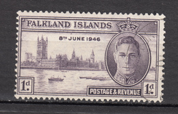 ##19, Falkland Islands, George VI, Parlement, Parliament, Bateau, Boat - Falkland