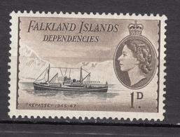 Falkland Islands, Élizabeth II, Bateau, Boat - Boten