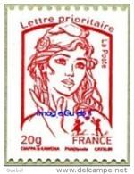 France Roulette N° 4779 ** Marianne Ciappa Et Kawena - Jeunesse, Le Gommé 20 Grammes Rouge - Rollen