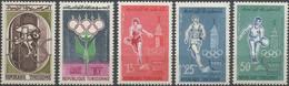 //// JO 1960 - Tunisie Y. 515 - 519** M. 562 - 566** - Ete 1960: Rome