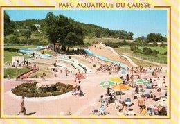 Lissac Sur Couze Larche Tobogggans Aquatiques Parc Aquatique Du Causse CPM Ou CPSM - Frankreich